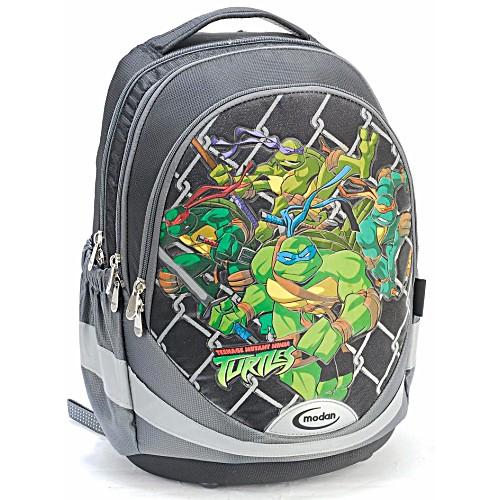 Школьный рюкзак - ранец Modan Ninja Turtles черный
