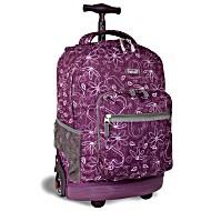Универсальный школьный рюкзак на колесах JWORLD Sunris