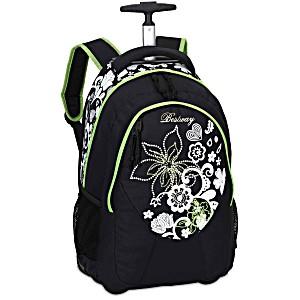 Универсальный школьный рюкзак на колесах Веstway 40028 цвет 0107 + дождевик