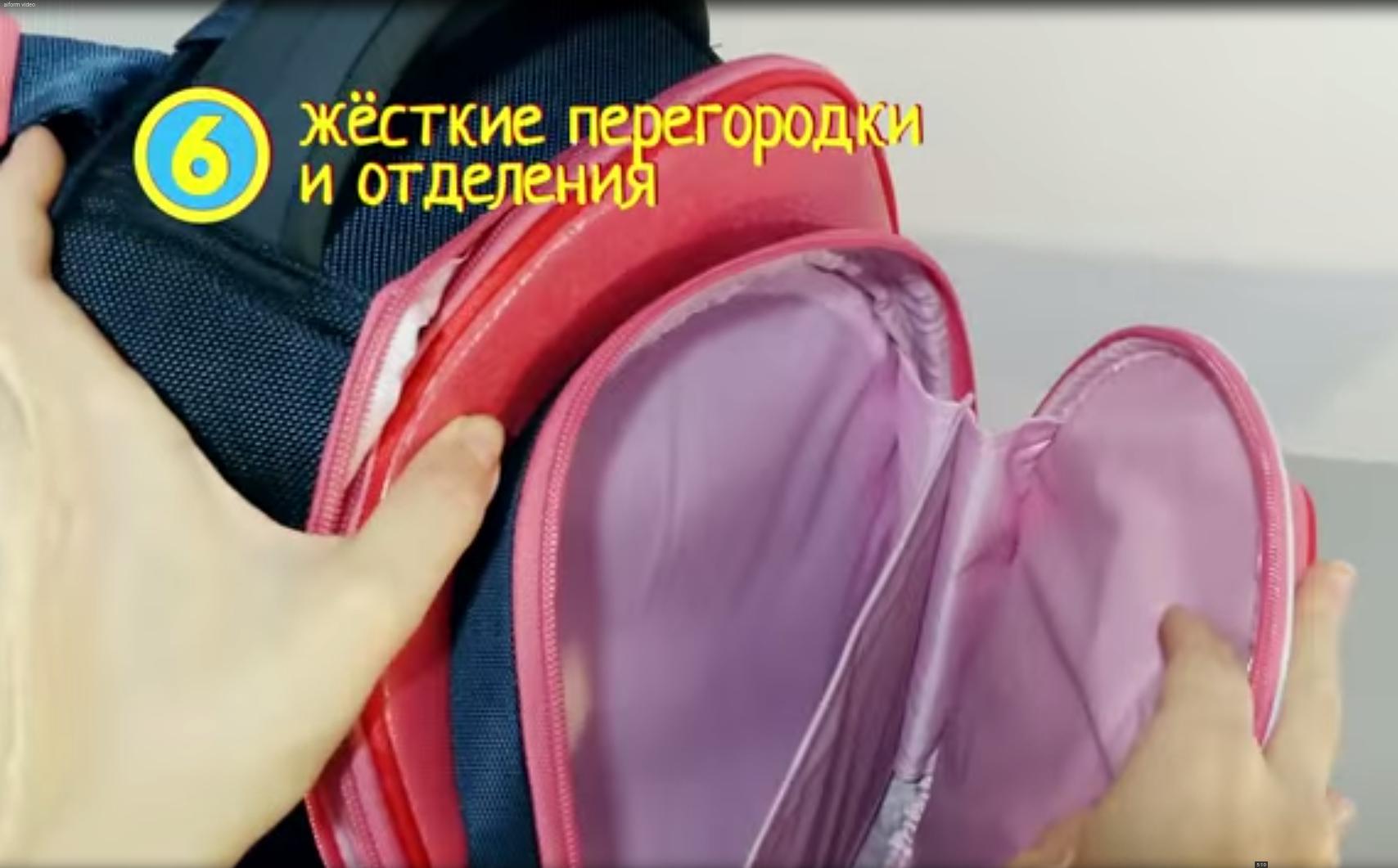 Школьный рюкзак Hummingbird TK54 официальный с мешком для обуви, - фото 9