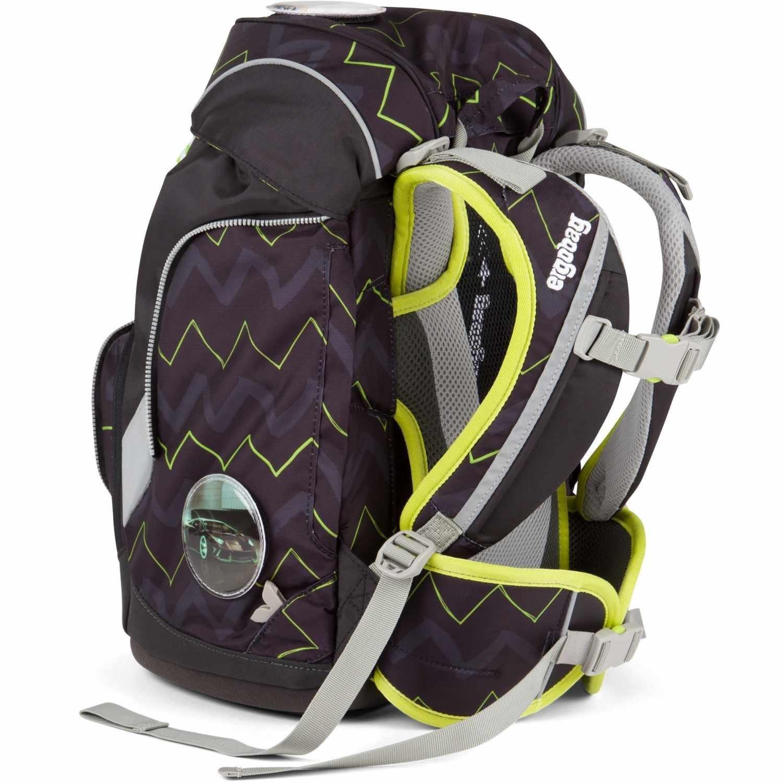 Рюкзак Ergobag HorsepowBear с наполнением + светоотражатели в подарок, - фото 4