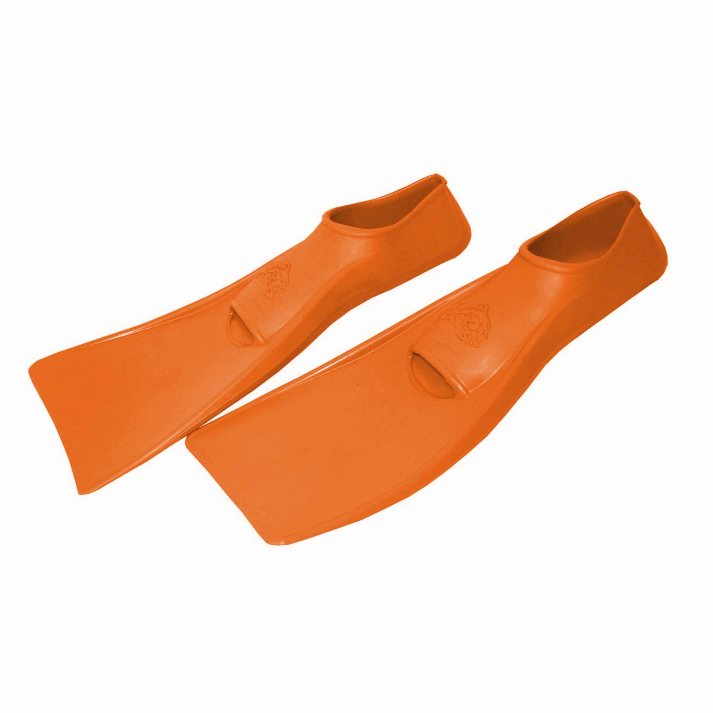 Ласты ProperCarry детские закрытая пятка для бассейна резиновые размер - 26 оранжевые ПРОПЕРКЭРРИ, - фото 2