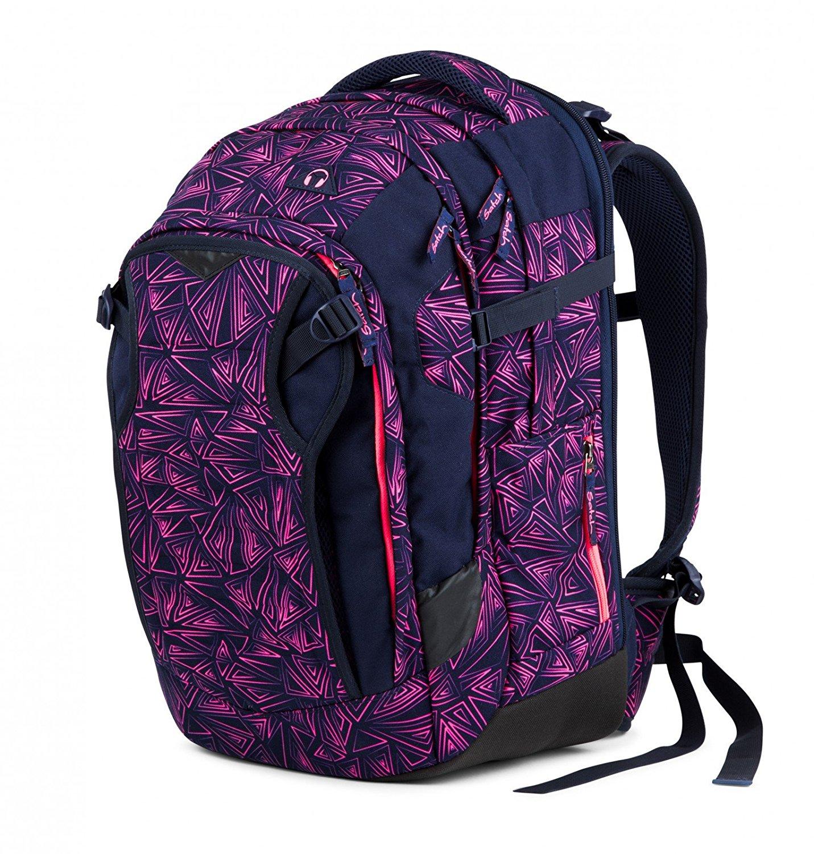 Рюкзак Satch Match для девочки цвет Pink Bermuda SAT-MAT-001-9K8, - фото 7