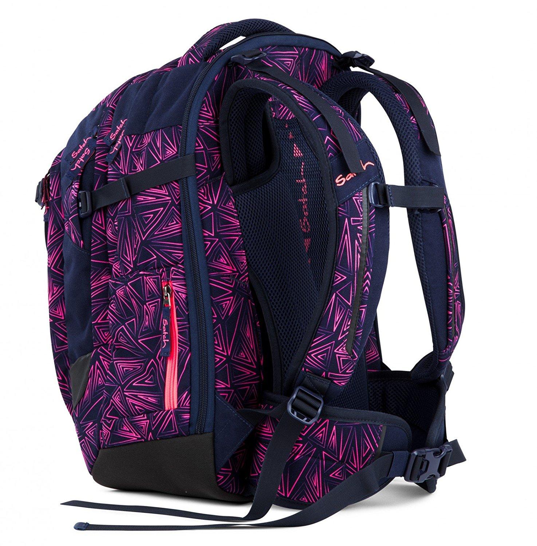 Рюкзак Satch Match для девочки цвет Pink Bermuda SAT-MAT-001-9K8, - фото 5