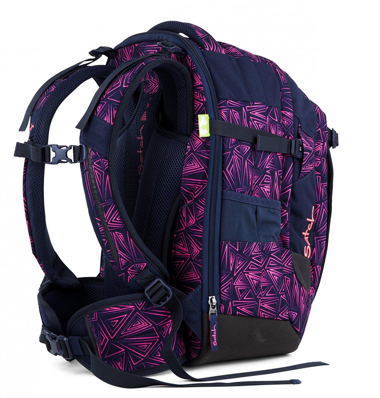Рюкзак Satch Match для девочки цвет Pink Bermuda SAT-MAT-001-9K8, - фото 3