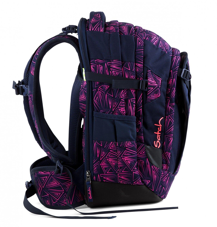 Рюкзак Satch Match для девочки цвет Pink Bermuda SAT-MAT-001-9K8, - фото 2