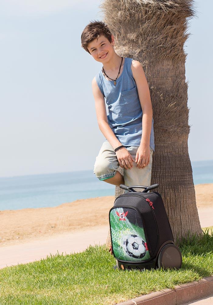 Рюкзак на колесах Nikidom GOAL XL Футбол арт. 9000 (27 литров), - фото 17