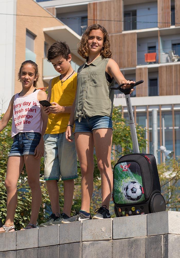 Рюкзак на колесах Nikidom GOAL XL Футбол арт. 9000 (27 литров), - фото 16