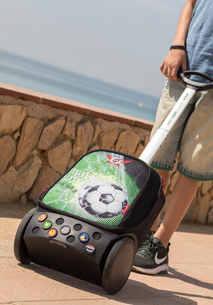 Рюкзак на колесах Nikidom GOAL XL Футбол арт. 9000 (27 литров), - фото 15